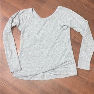 Zella Shirts & Tops - Gray sweatshirt